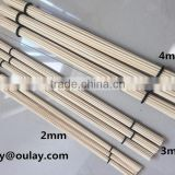 2mm,3mm and 4mm *40cm bamboo sticks /drumsticks/bamboo sticks with black rings