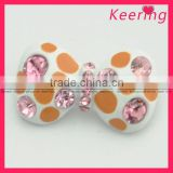 wholesale decorative flower design shoe clip WSC-168