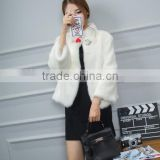 High Quality Luxury Ladies' Mink Fur Coat With Factory Price Popular Winter Genuine Fox Fur Jacket Women