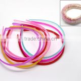 Hot Sale Accessories Mixed Plastic Teeth Hair Band Headbands with teeth