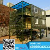 20ft 40ft eps sandwich panel light steel shipping container prefabricated portable premade