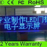 P10 Outdoor Blue Color LED Display,LED Scrolling Message Board