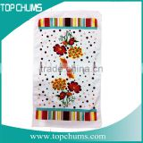Quality cheap microfiber printed terry cloth printed kitchen towels,microfiber customized tea towel,printed tea towel