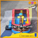 kid inflatable play bouncer inflatable boat pirate for sale
