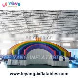 Sun theme Water park slides for Inflatable metal frame siwmming pool
