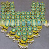 (KOH- 002) Tribal Kuchi Afghan Beaded Necklace