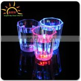 beautiful LED light up plastic flashing liquid activated cups