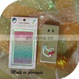 2014 Custom Rainbow Mobile Phone Crystal Diamond Sticker (ZY1-8014)