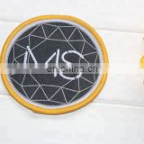 Good quality wholesale custom logo rubber patch of PVC unique label