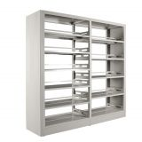 School furniture Library book storage shelves cabinet