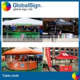 Good quality trade show printed table cover                                                                         Quality Choice