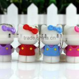 Hot selling low price hello ketty cartoon usb stick wholesale free samples