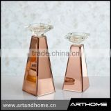 glass wedding decorative glass candle holder for elegant style/candle holder                                                                                         Most Popular