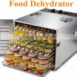 Stainless steel professional food dehydrator/fruit dehydrator with 10 trays                                                                         Quality Choice