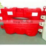 Best price 1.5m plastic road traffic safety water filled traffic barrier