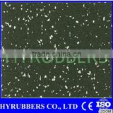 Manufacturers wholesale gym crossfit flooring with EPDM speckles