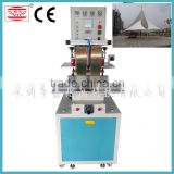 High frequency Radio frequency PVC & PU sidewall welding machine,Treadmill belt welding machine