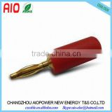 30V - 60V MAX.10A Gold Plated 2mm Banana Plug