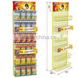 supermarket metal wire display rack for chips