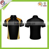 Women custom sublimation dry fit golf polo shirt sublimated custom new design polo t shirt