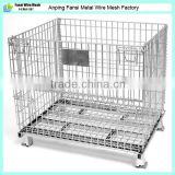 Heavy Duty Foldable Storage Metal Pallet Cage