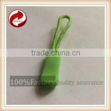 GZtime/OEM Silicone Decorative Zipper Pull For Clothes, Bags With Customized Embossed Logo