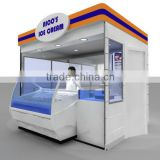 OEM ODM appreciated Juice kiosk , Smoothie kiosk, Coffee kiosk of high quality
