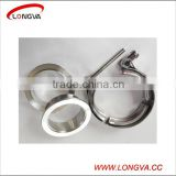 stainless steel v band auto exhaust hose pipe clamps