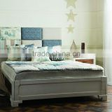antique french and european style wooden bed