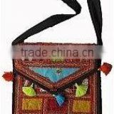 Patchwork Shoulder bags its made from Indian Bridal dresses and vintage textiles Patchwork Bags and Recycled bags are handmade