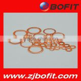 Professional fatory customized plain copper brass washer advanced production equipment                                                                         Quality Choice