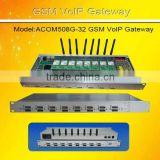voip machine,8 channel GSM/CDMA voip gateway with 32 sim card slot for call terminal
