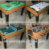 Hot selling 4 in 1 game table set including football,billiard,pingpong and air hockey Wholesale Price