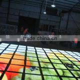 LED dance floor for holiday ,party,wedding,club,stage with cheap price, led video dance floor,led dance floor mat