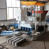 WT10-15 Hydraulic Mobile Eps+Concrete block kerb making machine