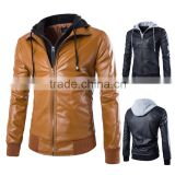 Pakistan Men Fashion Leather Biker Jacket,Genuine Leather Cotton Jacket for men, Ladies's Lamb leather Cotton Jacket / genuine