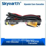 Top grade fog xenon hid drl lamp bulb led decoder resistor wire harness xenon hid kit h5