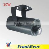 FRANKEVER 10W Zoom gobo projector four image rotating around Christmas projector light