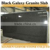 2014 Hot New Products Black Galaxy Granite Slab, cheap granite slabs