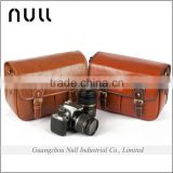 High quality fashion waterproof vintage shoulder leather camera bag for travel                                                                         Quality Choice