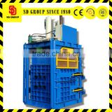 best price hydraulic vertical baler machine for used clothes