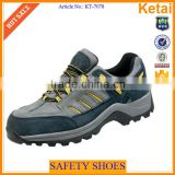 Real Leather different season black non slip work boots for safety shoes                                                                         Quality Choice