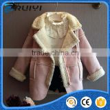 girls winter clothes baby clothes fake fur winter suede lamb wool coat