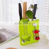 Multi-function kitchen appliance chopstick fork spoon knife rack