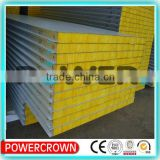 high density thermal insulation glass wool board for wall made in china