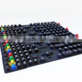 Rubber keypad,silicone rubber keypad for tv remote control,membrane silicone rubber keypad,adhesive silicone rubber keypad