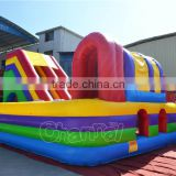 kids inflatable outdoor playground giant inflatable obstacle course