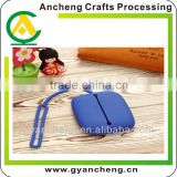 Fashion Practical blue Silicone Purse Wallet