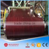 China wood grain design ppgi color coated steel coil for wall panel and house decoration