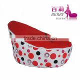 Lovely comfy Baby Beanbag Bed With Seat Belt